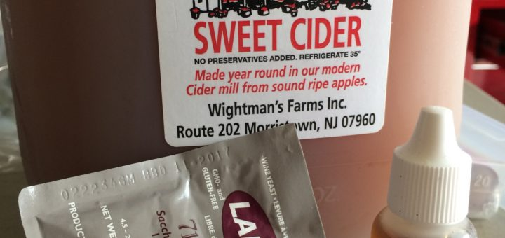 Simple Cider Ingredients